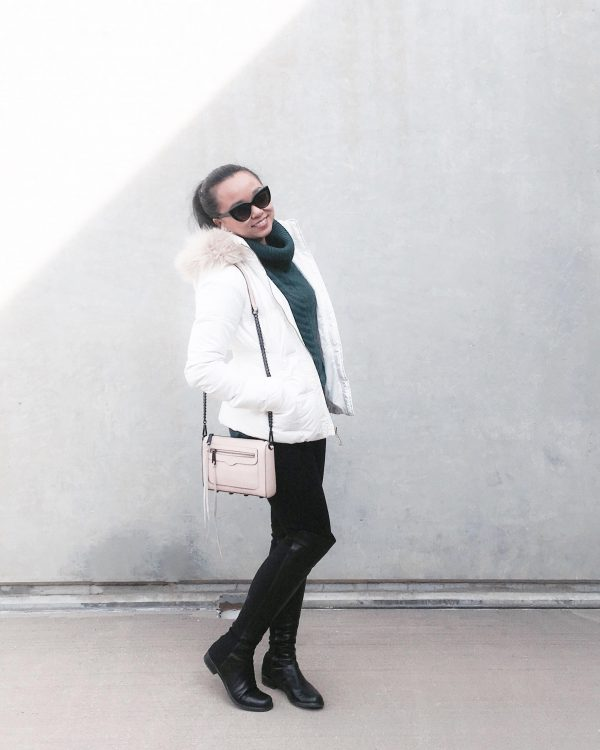 Goodbye :: Turtleneck Sweater & Puffy Coat