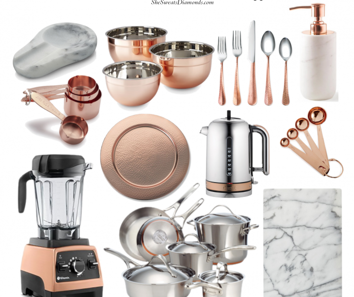 The Diamond Edit No. 3 :: Marble and Copper Kitchen