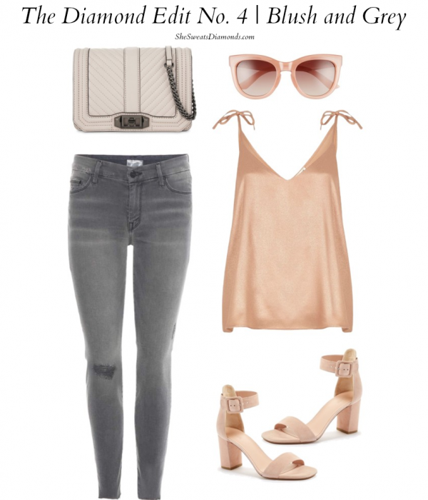 The Diamond Edit No. 4 :: Blush and Grey Outfit Inspiration