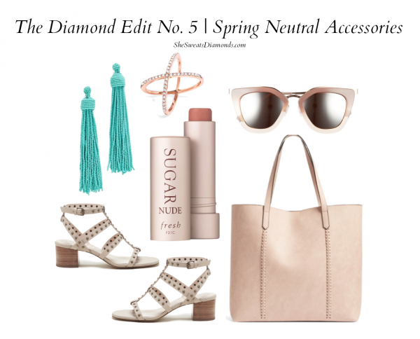 The Diamond Edit No. 5 :: Neutral Accessories Two Ways