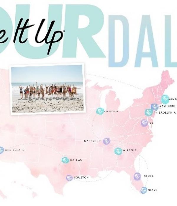 Tone It Up! Tour: Dallas Stop + Giveaway!!!