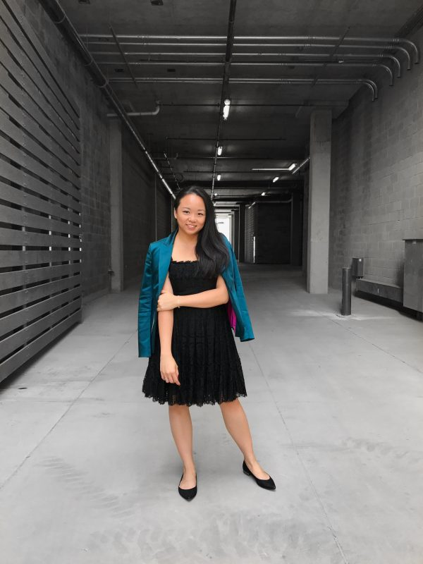Don't Worry, Be Happy :: Lace Dress & Black Flats
