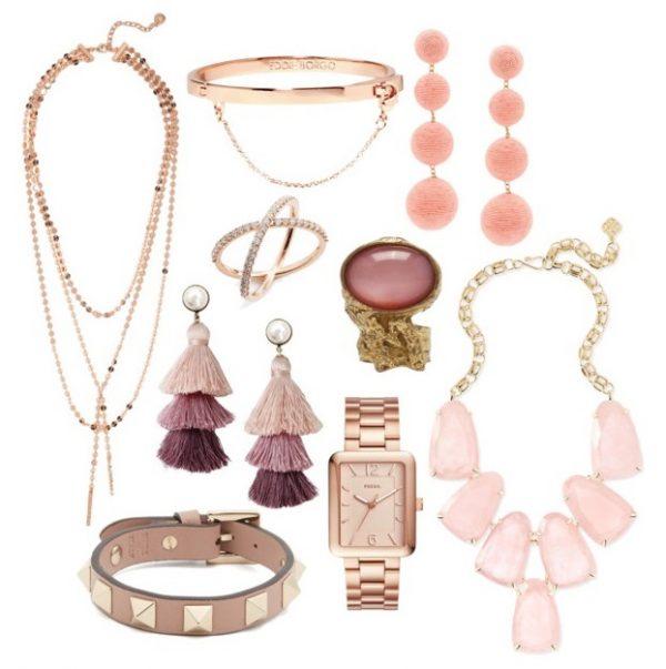 The Diamond Edit No. 14 :: Nude/Blush Pink Jewelry Edition