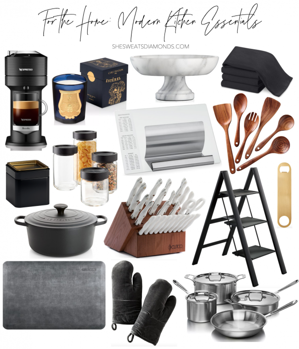 For the Home: Modern Kitchen Essentials